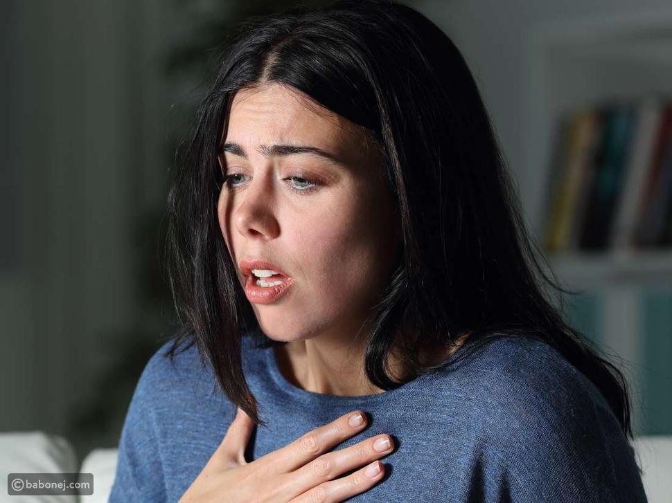 ما الذي تشعر به عند حدوث ضيق التنفس