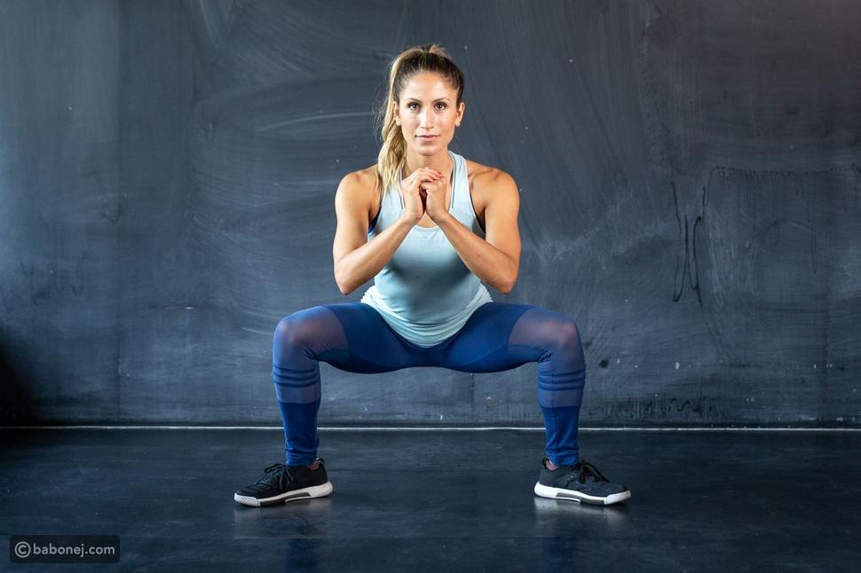 تمرين القرفصاء لزيادة الوزن