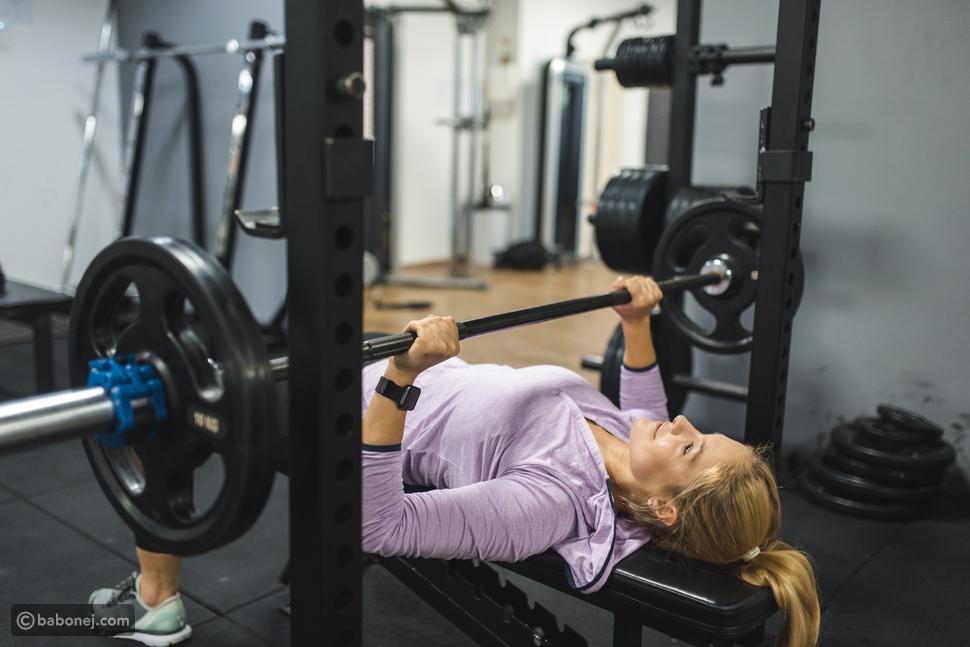 """تمرين عضلة الصدر لزيادة الوزن """"Bench press"""""""