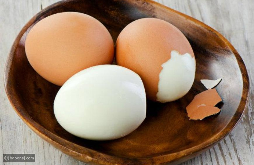 الآثار الجانبية في الاعتماد على البيض المسلوق
