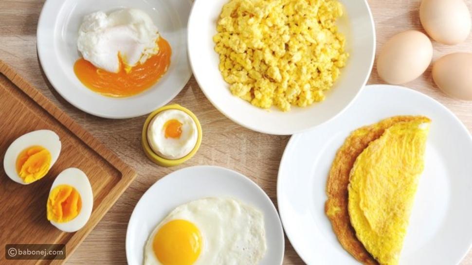 وجبات ريجيم البيض