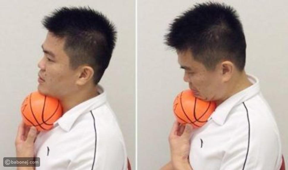 تمرين Ball Under Chin