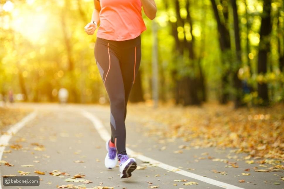 تمرين الجري أو المشي