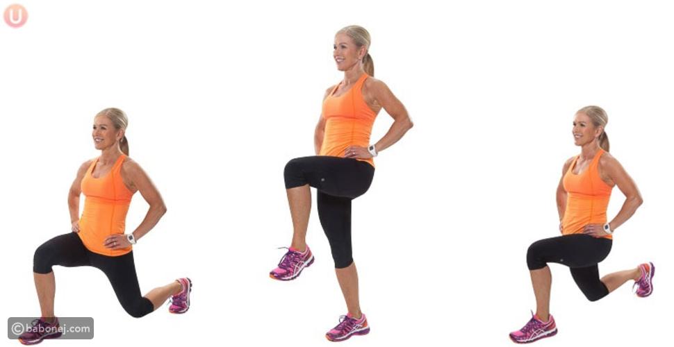 تمرين عضلات الفخذ