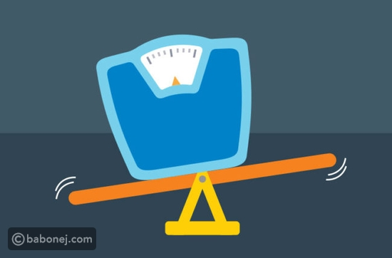 ثبات الوزن أثناء الرجيم
