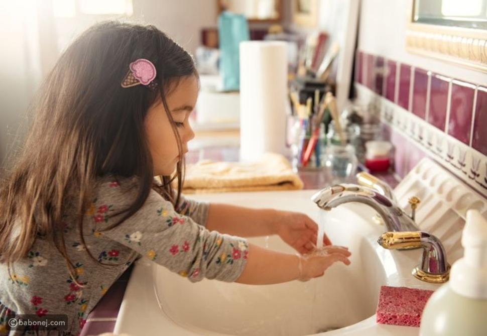 نصائح لغسل اليدين للأطفال