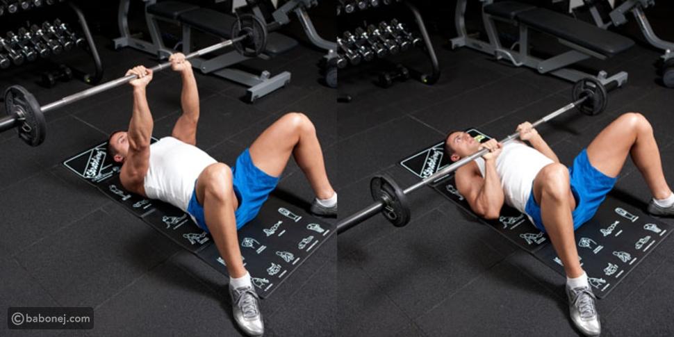 تمرين Close-grip Bench Press