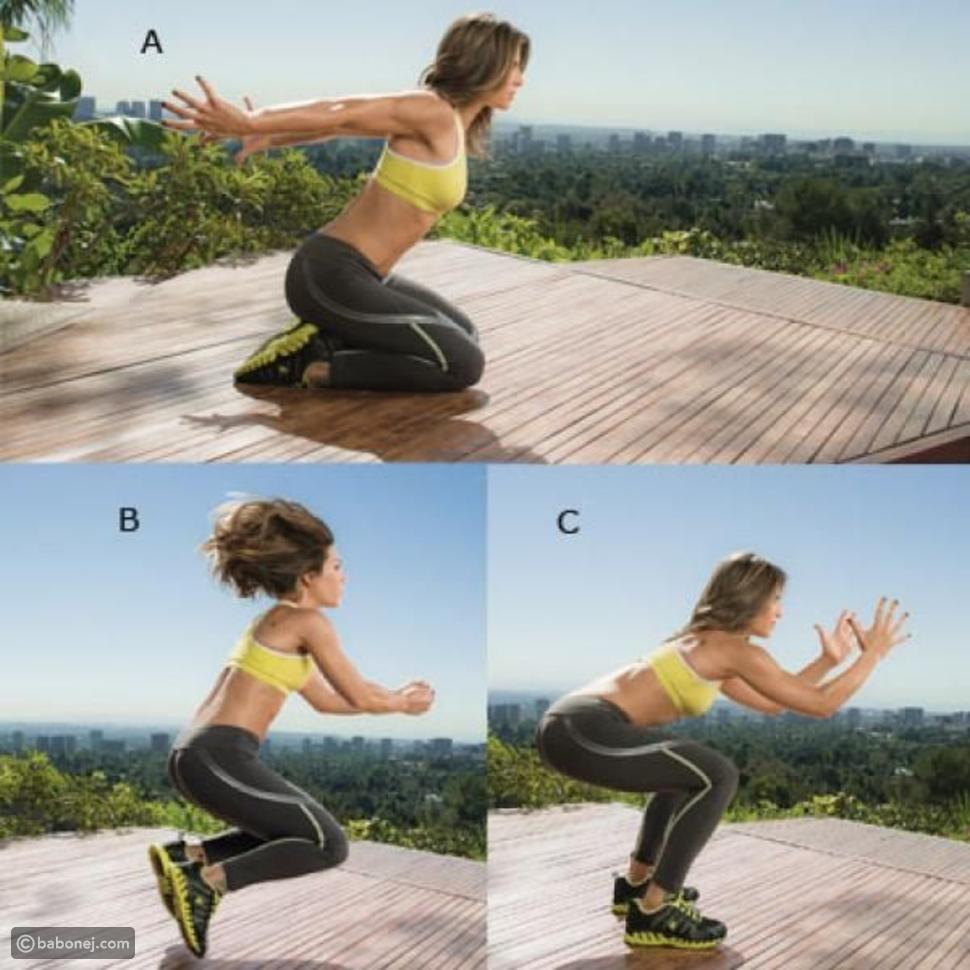 تمرين قفزة النينجا (Ninja jump)وخطواته