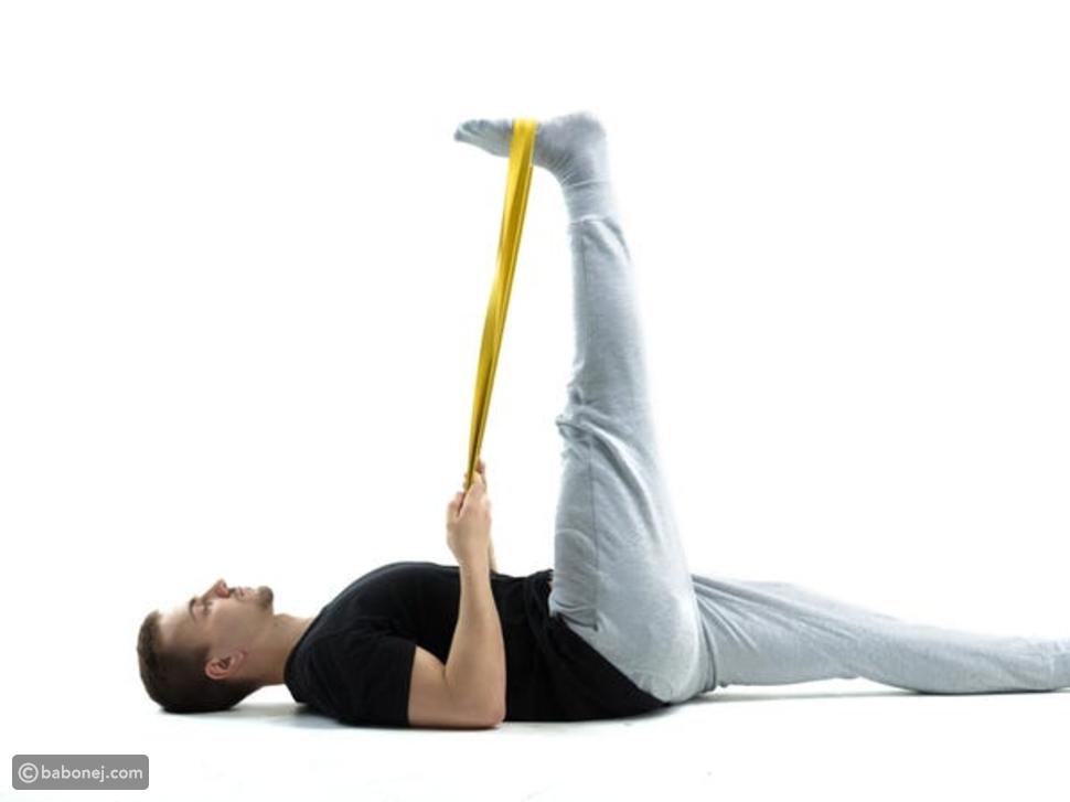 تمرين تمدد أوتار الركبة