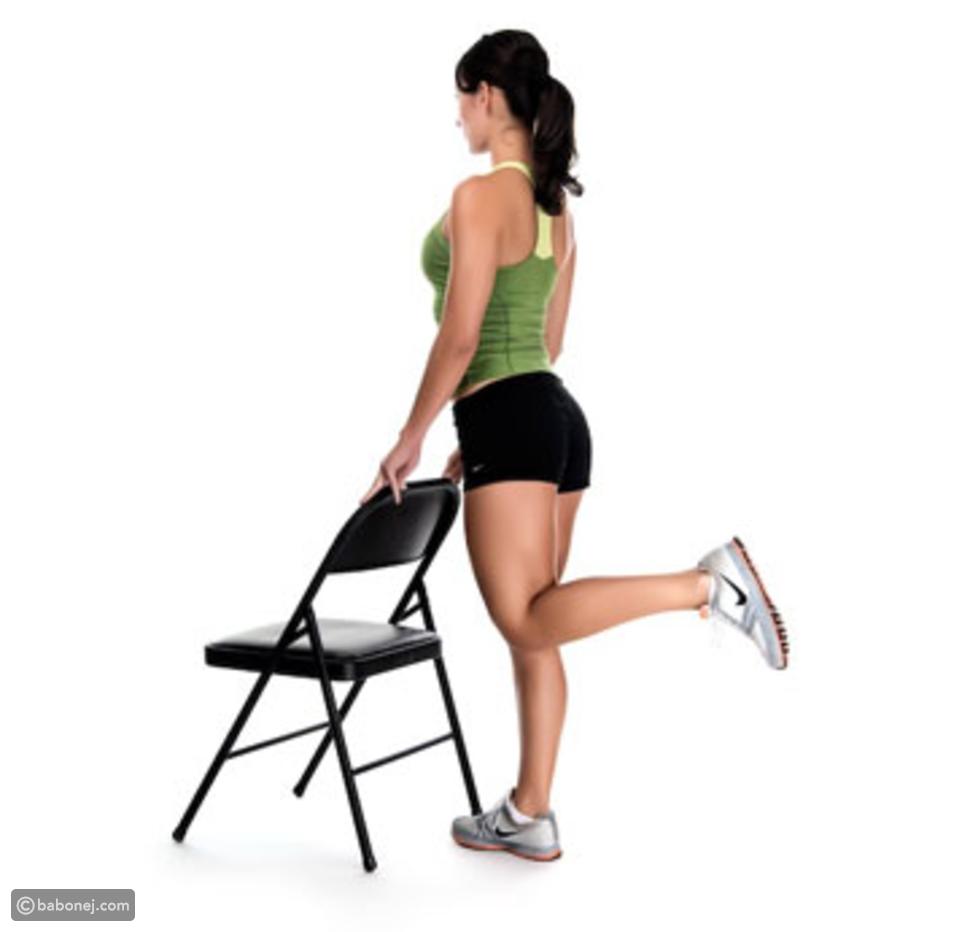 تمرين ثني الركبة الخلفي