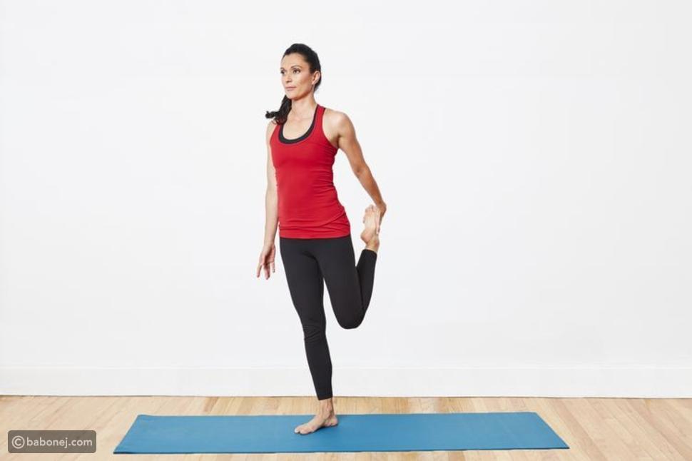 تمرين تمدد عضلات الفحذ
