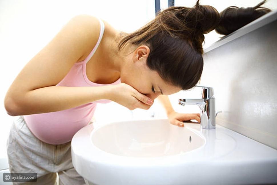 أعراض غثيان الحمل