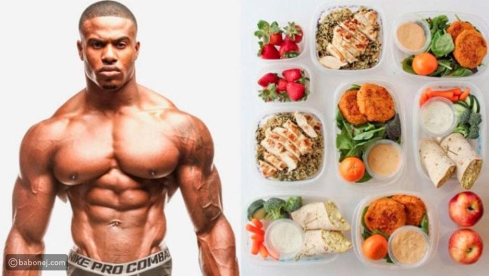 جدول غذائي لتضخيم العضلات