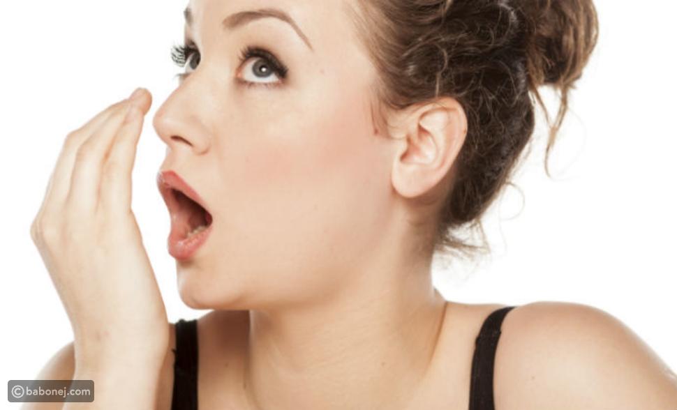 اختبار رائحة الفم الكريهة