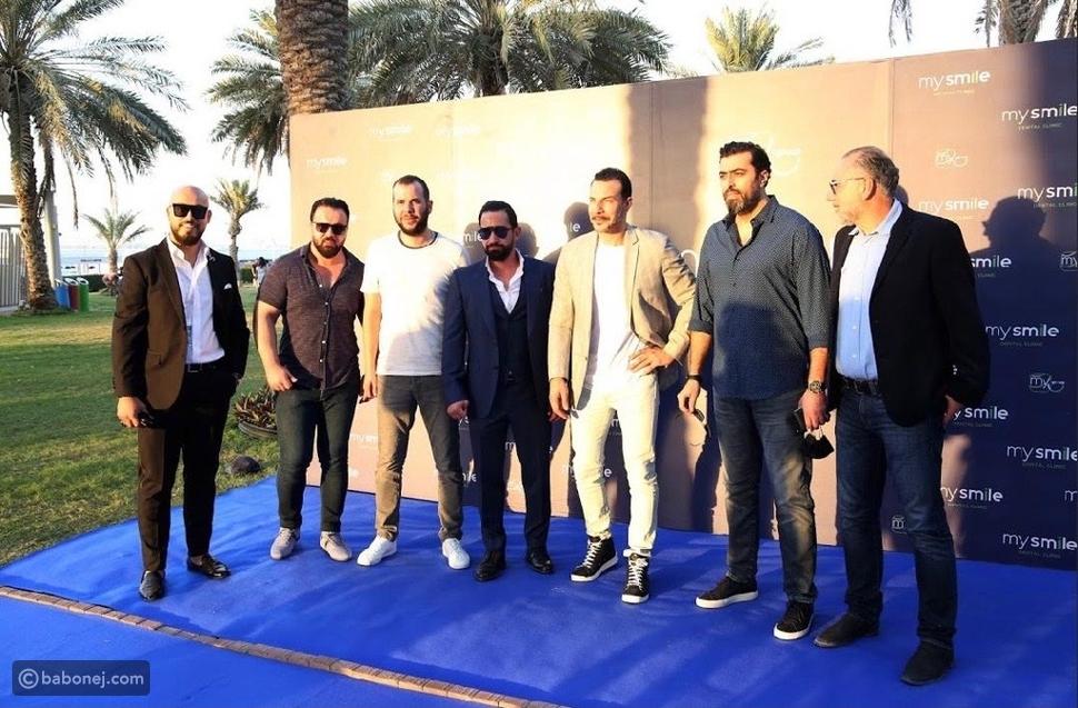 بحضور نجوم الدراما العربية إطلاق أول عيادة أسنان متنقلة في الإمارات